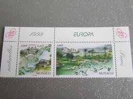 1999-MONACO- N°2203/2204** EUROPA - 1999
