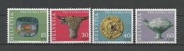 Switzerland 1974 Pro Patria Y.T. 961/964 ** - Neufs