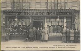 PARIS - AU BON SAINT DOMINIQUE  Magasin De Vêtements  117, Rue St Dominique - Arrondissement: 07