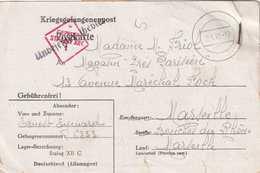 CPFM Prisonnier Stalag XII C. Censure + Bulletin Expédition Colis Pour PG POW - Guerre De 1939-45