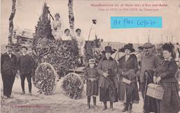 10-BAR-sur-AUBE- CHAR De SPOY Et FRAVAUX En Champagne- Manifestation Du 25 Mai 1921-Edit. GRANDDIDIER, TROYES (11/5/20) - Bar-sur-Aube
