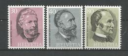 Switzerland 1974 U.P.U. Centenary Y.T. 958/960 ** - Neufs