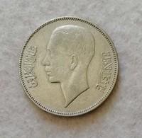 Iraq 50 Fils 1937 Re Ghazi I (Argento 500) - Iraq
