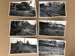Villeneuve Saint Georges  20 Photos Du Bombardement Du Centre Ferroviare De 1944   94 Val De Marne - Villeneuve Saint Georges