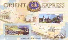 Austria 2010 - Orient Express, Foglietto MNH** Integro - 2001-10 Unused Stamps