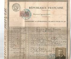 Carte D'identité - Documents Historiques