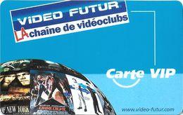 VIDÉO FUTUR CARTE ABONNEMENT CARTE PRIVILÈGE L'AUTRE IMAGE CARTE VIP - Subscription