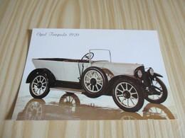 Automobile Opel Torpedo 1920. - Turismo