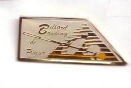 C44 Pin's BOWLING BILLARD De Plaisir Les Clayes-sous-Bois Maurepas Yvelines Achat Immédiat - Bowling
