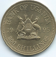 Uganda - 1995 - 200 Shillings - FAO - KM148 - Oeganda