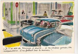 TETSU  Ed Yvon N°42 - Humour Voiture Mariage - CPSM 10.5x15 TBE 1967 Neuve - Other Illustrators
