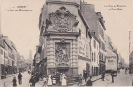 Bv - Cpa LORIENT - Les Rues Du Morbihan Et Paul Bert - Lorient
