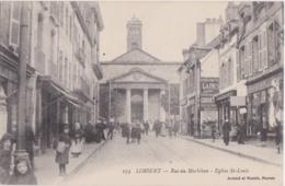 Bv - Cpa LORIENT - Rue Du Morbihan - Eglise St Louis - Lorient