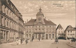 CPA Weißenburg (Elsaß) Wissembourg Marktplatz Belebt 1912 - Wissembourg