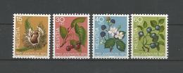 Switzerland 1973 Forest Fruit Y.T. 943/946 ** - Neufs