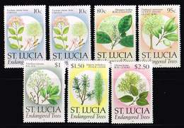 St. Lucia1990, Michel#  **  Endangered Trees - St.Lucia (1979-...)