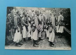 ARMEE FRANCAISE - TIRAILLEURS SENEGALAIS - Guerre 1914-18