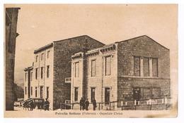 B3541 - Petralia Sottana, Ospedale Civico, Viaggiata 1946 Francobollo Asportato Macchia In Basso - Palermo