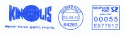 Freistempel 4917 Kinopolis - Affrancature Meccaniche Rosse (EMA)