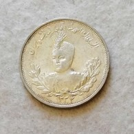 Iran 2000 Dinars 1907-09 (Argento 900) NC - Irán