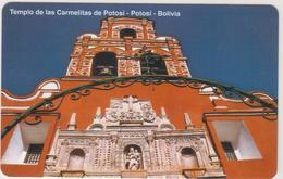 BOLIVIA - Urmet, Templo De Las Carmelitas De Potosí, 10 Bs., Tirage 685,500, Mint - Bolivië