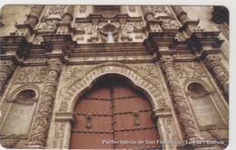 BOLIVIA - Urmet, Portón Iglesia De San Fransisco - La Paz, 10 Bs., Tirage 685,500, Mint - Bolivien