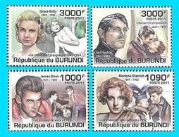 Burundi, 2011. [bp1104] Movie Actors - Acteurs