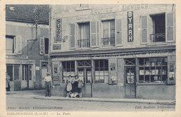 77 /  Sablonnières : La Poste (pli Angle) Café Restaurant     ///     Mai . 20 ///   BO. 18 - Altri Comuni
