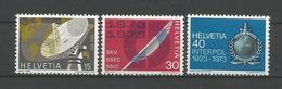 Switzerland 1973 Events Y.T. 921/923 ** - Neufs