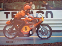 1973,double Page Originale  C. Nies Harley Davidson. TBE. - Sports