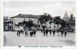 87 - COGNAC Le FROID - COGNAC Le FORET - Le Champ De Foire - Ed Gerald - ANIMATION - France