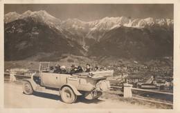 Postauto; Autobus; Saurer?; Innsbruck Von Der Brennerstrasse; Photokarte! - Innsbruck