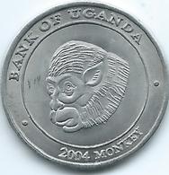 Uganda - 2004 - 100 Lingshshil - KM196 - Monkey - Oeganda