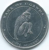 Uganda - 2004 - 100 Shillings - KM130 - Monkey - Ouganda