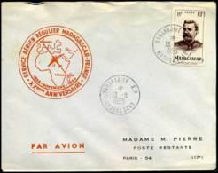 Cover From Madagascar To France - Madagascar (1889-1960)