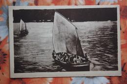 CAROLINAS Y MARIANAS Old Vintage Postcard - Sales -  Aborigens - Noordelijke Marianen