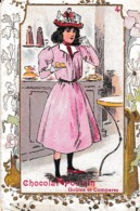 CHROMO GAUFFREE CHOCOLAT POULAIN N° 4 REF 65772 - Poulain