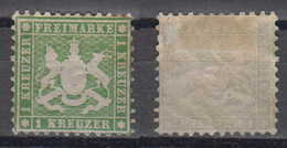 Württemberg Mi# 25 * Mint 1Kr 1863 - Wuerttemberg