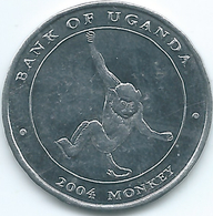 Uganda - 2004 - 100 Shillings - KM133 - Monkey - Ouganda
