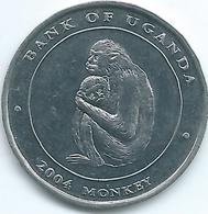 Uganda - 2004 - 100 Shillings - KM132 - Monkey - Oeganda