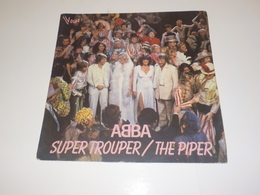 45 TOURS  ABBA SUPER TROUPER 1980 - New Age