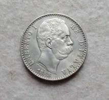 Umberto I L. 2 1883 (Argento 835, Gr. 10) - 1878-1900 : Umberto I