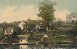 England Postcard Shropshire The Boat House Shrewsbury - Altri