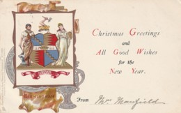 England Postcard Warwickshire Birmingham Greetings - Altri