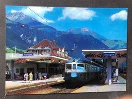 Frutigen Bahnhof BLS Mit Niesen/ Scan Beachten - BE Bern