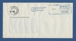 Privatpost - WPS Westdeutscher Post Service - DORTMUND, Finanzverwaltung NRW (1) - Private & Local Mails