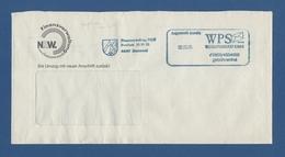 Privatpost - WPS Westdeutscher Post Service - DORTMUND, Finanzverwaltung NRW (2) - Private & Local Mails