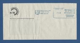 Privatpost - WPS Westdeutscher Post Service - DORTMUND, Finanzverwaltung NRW (3) - Private & Local Mails