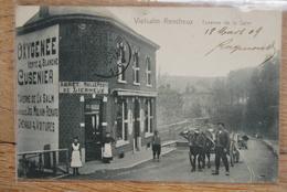 2707/VIELSALM-RENCHEUX Taverne De La Salm Malchair-Renard-Arrêt Malle Poste/Attelage - Vielsalm