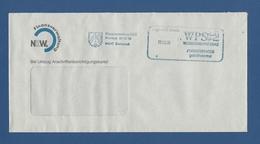 Privatpost - WPS Westdeutscher Post Service - DORTMUND, Finanzverwaltung NRW (6) - Private & Local Mails